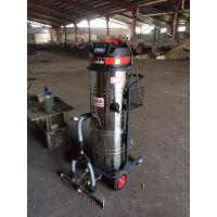 大型厂房推吸粉尘工业吸尘器 威德尔上下分离式吸尘机WX-3610P