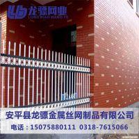 建筑围墙护栏 工程围栏厂家 锌钢护栏价格