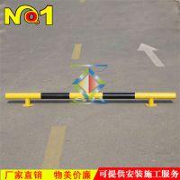 定位管 彩钢铁底座 倒车墩 倒车管挡车定位杆 活动底座挡车定位管挡车杆