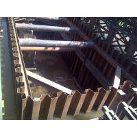 东营钢板桩施工单位,德州拉森钢板桩施工,拉森钢板桩支护施工队伍
