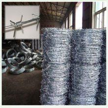 全自动刺绳 喷塑刺绳厂家 刺铁丝隔离栅