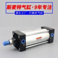 亚德客型SC标准型气缸应用领域和结构特点