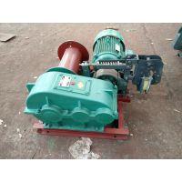 贵州铜仁郑科两吨提升牵引电驱动卷扬机工作平稳
