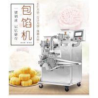 百色多功能月饼机,包馅机成型机,厂家直销可做鲜花饼的月饼机