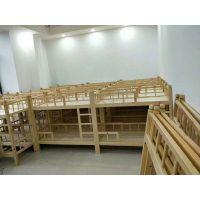 四川幼儿园家具厂 成都儿童家具厂家 鸿腾幼儿园实木家具 幼儿园松木家具