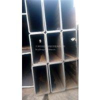 热镀锌方钢管价格 天津薄壁方管厂家 Q235B镀锌方矩管规格齐全