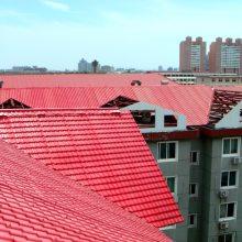 山西吕梁仿古欧式别墅树脂屋面瓦 隔热琉璃瓦复合新型塑料瓦片