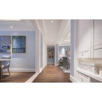 青岛装修:现代简约蓝色经典时尚的三居室