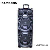10寸拉杆音箱 充电音响 大功率户外舞台音箱 音响生产厂家