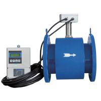 分体式电磁流量计DN150 潜水型暗渠污水流量计市政排水系统