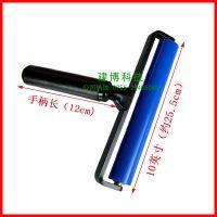 热卖的工程塑料无动力滚筒防静电粘尘滚轮(10英寸)