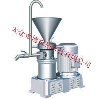 SID/希德 SJMF高速分体不锈钢胶体磨 食品胶体研磨机