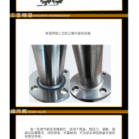 磁翻板液位计高温面板 UHZ-58/CG-C/35电伴热防腐防爆304不锈钢