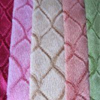 毛毯包边布小缸小批量定染起毛布圈绒短毛绒雪尼尔地垫包边布条