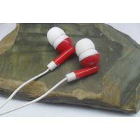 礼品耳机现货批发小苹果耳机 入耳式mp3耳机工厂生产通用配机 品牌广告赠品