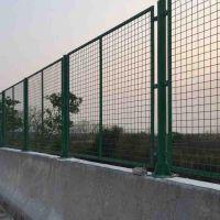 公路墨绿色框架网、铁路铁丝隔离栅、3*5带边框护栏网