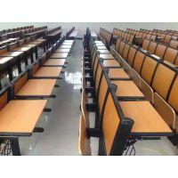 文学士板式学生固定连排椅定做厂家