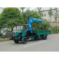 厂家出售JN25DT爬山王湖南3吨拖拉机四驱随车吊致富好帮手