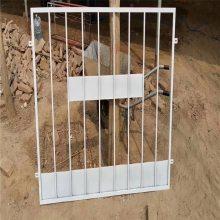 建筑施工护栏 钢结构防护门 工厂安全围栏