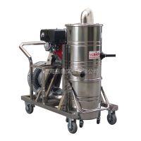 道路施工打磨地坪专用威德尔汽油机工业吸尘器QY-75J