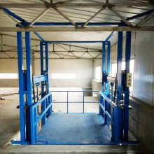 坦诺供应鄂州叉车装卸货平台 楼层间液压载货电梯 升降货梯厂家定做
