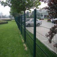 沃达桃型柱护栏网 铁丝网隔离网 安平折弯防护网围栏