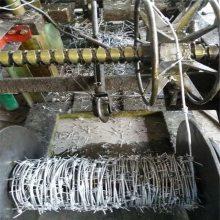 PVC包塑刺绳 刺绳护栏多少钱一米 铁蒺藜丝