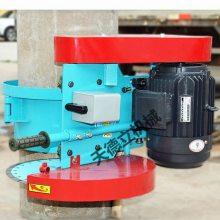 天德立600抱箍式混凝土切桩机 4.5kw水泥管桩头切割机 空心管切桩机
