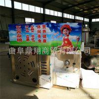 重庆合川五谷杂粮膨化机 4缸暗仓麻花膨化机 自动切断食品膨化机