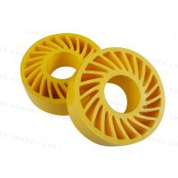 厂家供应 送纸胶轮 环保太阳轮 聚氨酯太阳轮