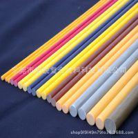 玻璃纤维棒厂家供应1.0-60mm玻纤棒实心杆定做批发大棚支撑杆纤维棒