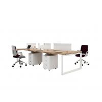 职员办公桌椅简约现代桌椅组合四人位六电脑办工屏风工位办公室家具