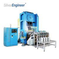 【银工机械】国内技术、全自动铝箔容器生产设备、高速冲床