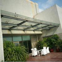 广州番禺区专业订制钢膜结构车棚雨棚 不锈钢雨棚 经久耐用