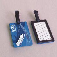 定制各种卡通软胶行李牌个性pvc行李牌精美箱包配件登机行李吊牌