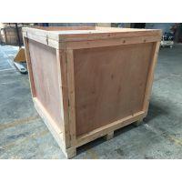 机械设备木箱木架底托出口免熏蒸包装箱真空防水包装消毒木箱证书承重3000公斤以上