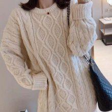 秋季打底衫批发韩版时尚女装毛衣针织衫外套批发工厂直批低价清货