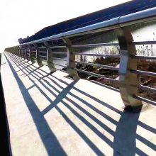 新云 不锈钢304栏杆立柱桥梁护栏立柱 支持定制楼梯玻璃栏杆sw521