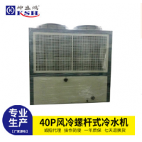 40P风冷螺杆式冷水机 风冷螺杆式冷水机组 螺杆式工业冷水机