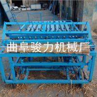 厂价供应 麦秸电动编织机 多用途稻草加工草苫机 全自动草帘机 骏力