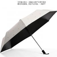 琪胜韩版清新可爱三折超轻晴雨两用伞
