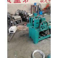 新款2018高碳钢丝压扁机,不锈钢丝轧扁机厂家直销
