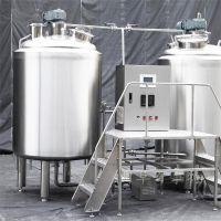 创业致富项目 百事特小型自酿啤酒生产线潜力大操作简单