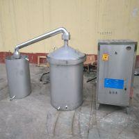 白酒设备 1000斤粮食酿酒设备 固液两用煮酒设备制作单位 不锈钢酒罐价格