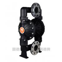 QBY3-80铝合金气动隔膜泵,污水泵,往复泵,固德牌,湖北隔膜泵,武汉涂料泵