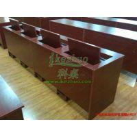 深圳K166翻转电脑桌 办公实习生培训桌 高校机房电脑翻转桌