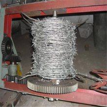 镀锌刺绳护栏网 围墙刺绳厂家 铁蒺藜在哪买