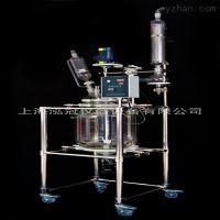 上海泓冠双层玻璃反应釜S212-100L品质保证
