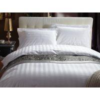 江苏酒店布草供应商筛选优质宾馆纯棉四件套缎条40支