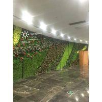 仿真植物墙的安装方式?东莞厂家常年供应热带植物 室外绿植 高档室外仿真绿植墙